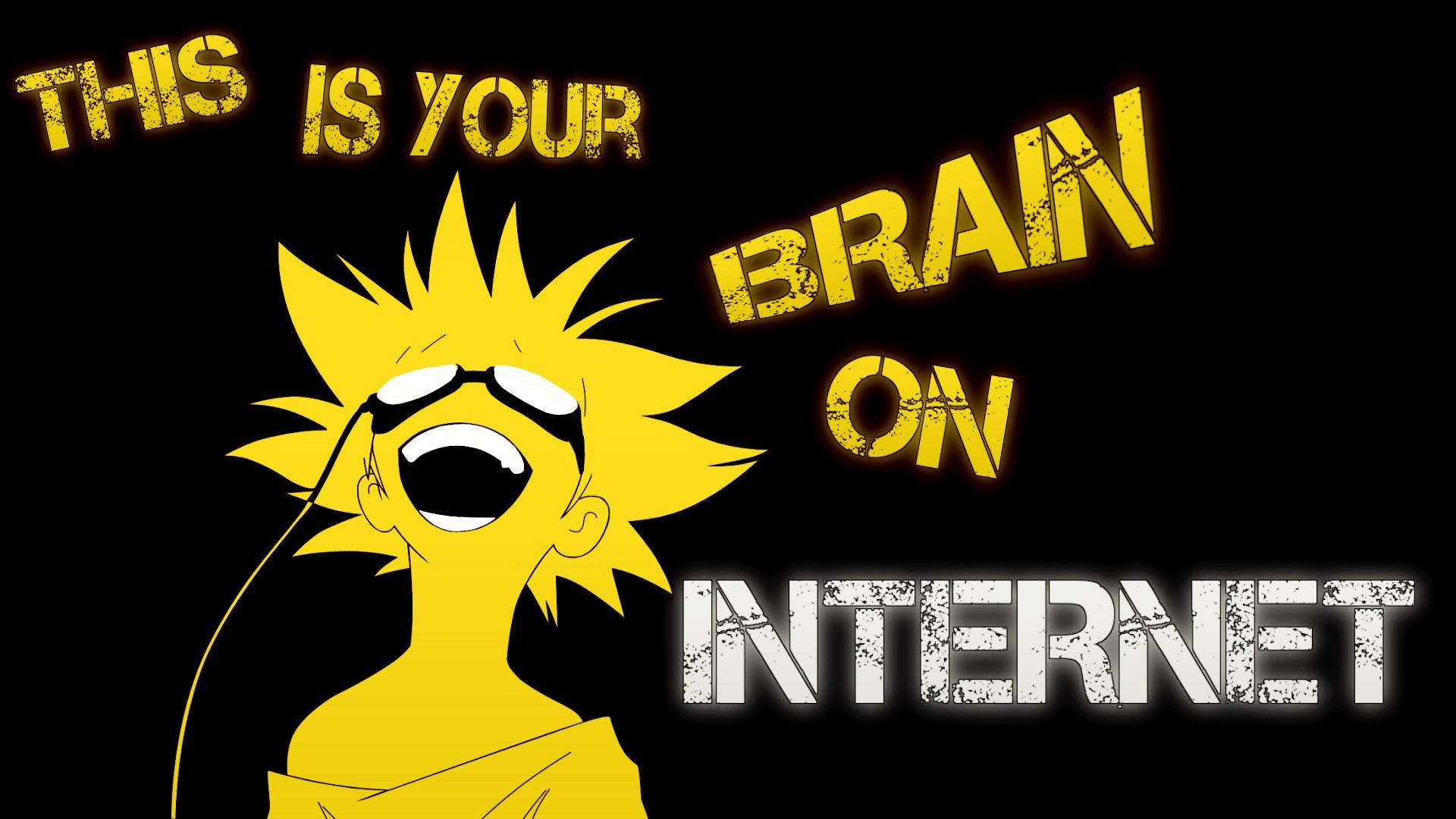 Anime 1920x1080 Cowboy Bebop anime open mouth humor yellow internet