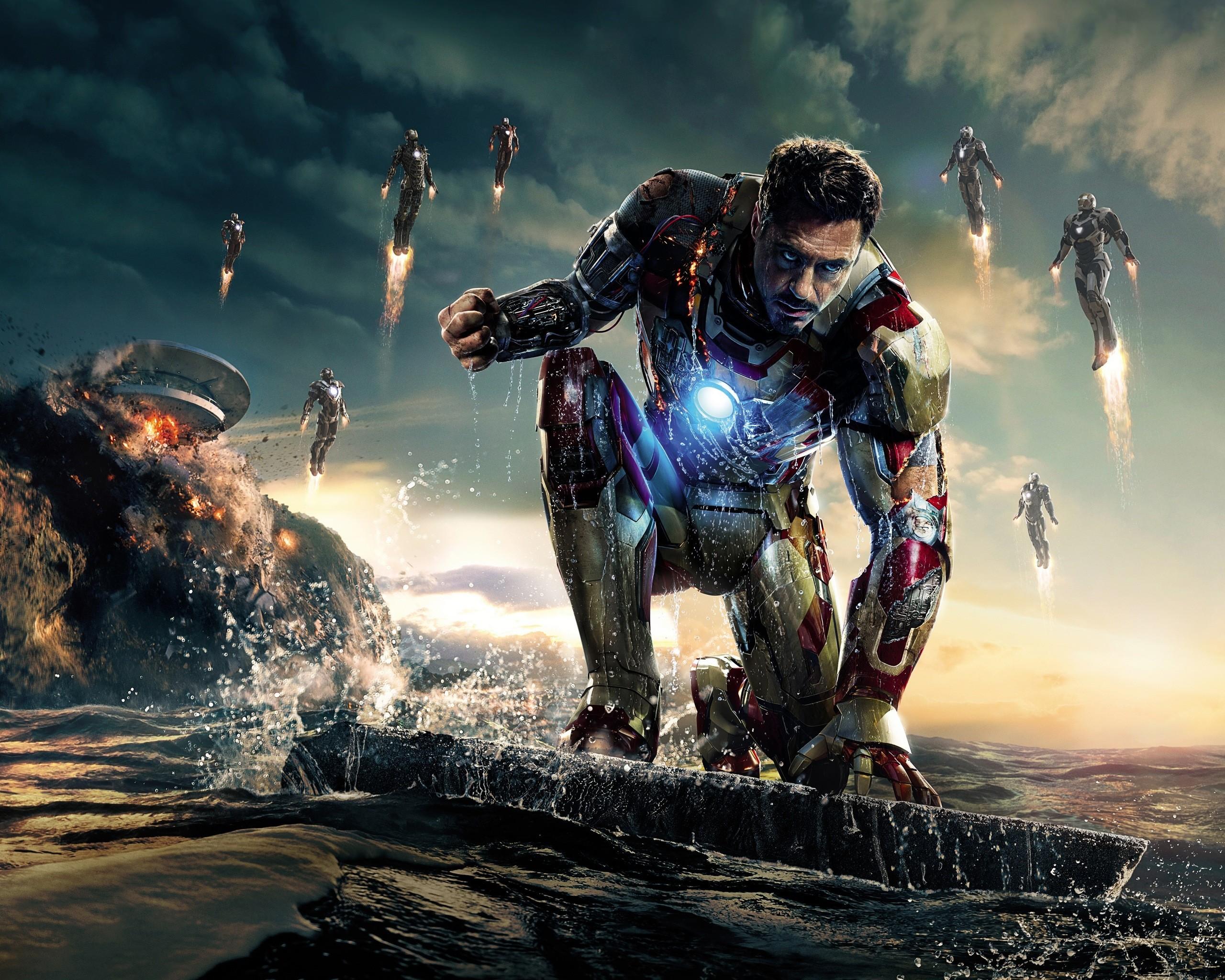 General 2560x2048 Iron Man Marvel Cinematic Universe movies Iron Man 3