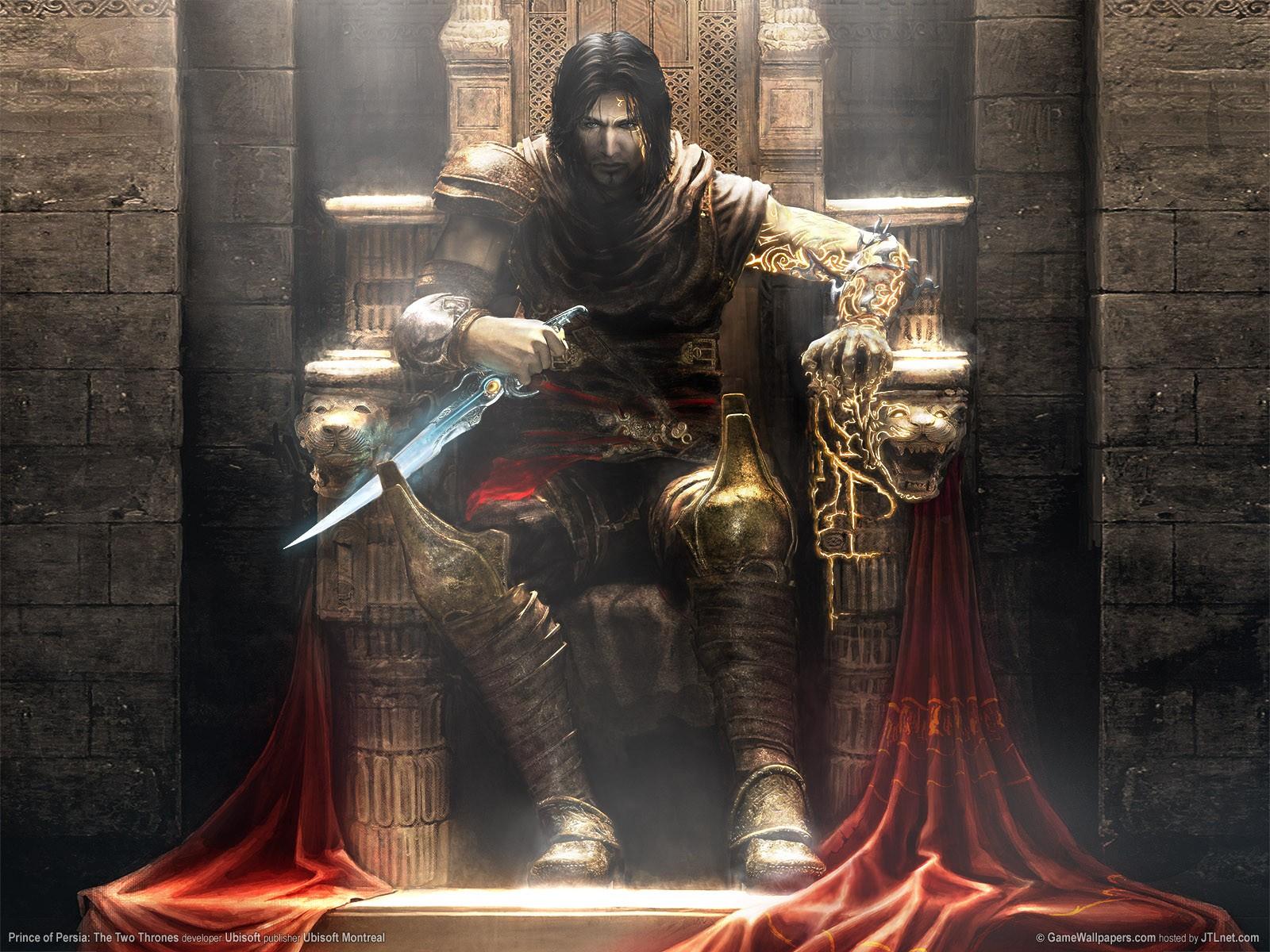General 1600x1200 Prince of Persia: The Two Thrones video games video game art video game man throne sitting Fantasy Men fantasy art Ubisoft