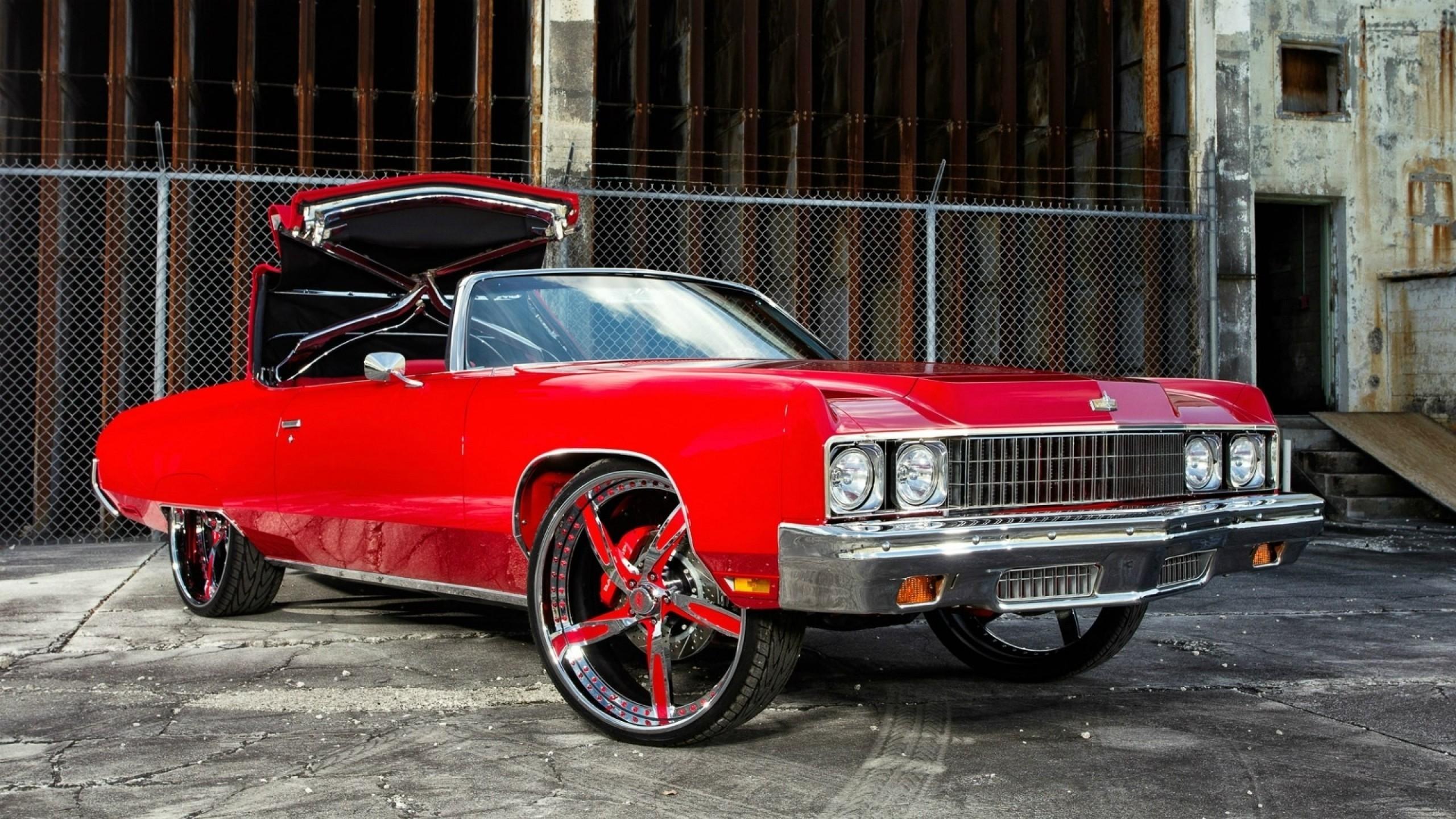 General 2560x1440 car rims red cars