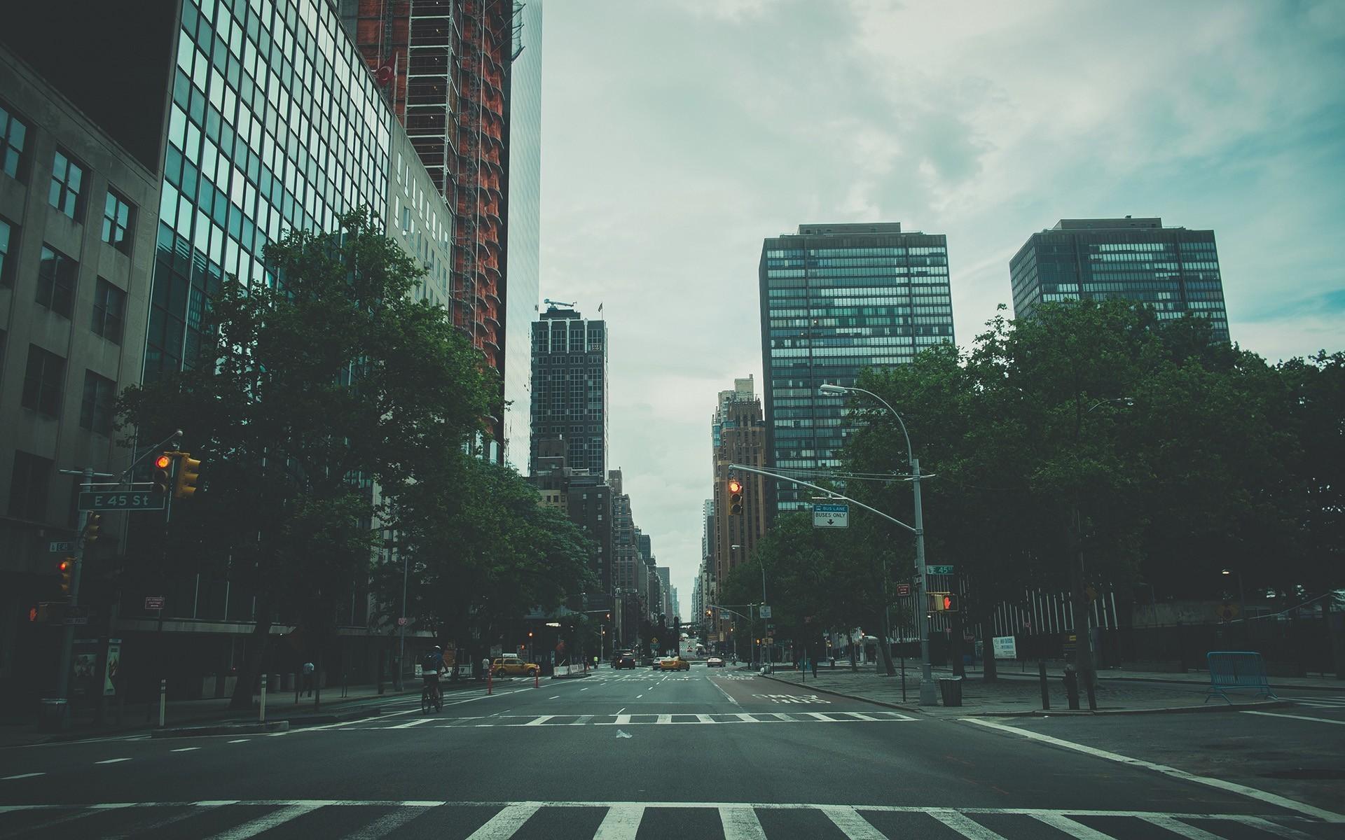 General 1920x1200 New York City cityscape USA street urban