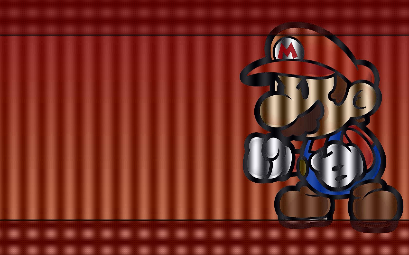 General 1680x1050 video game art Super Mario video games Nintendo
