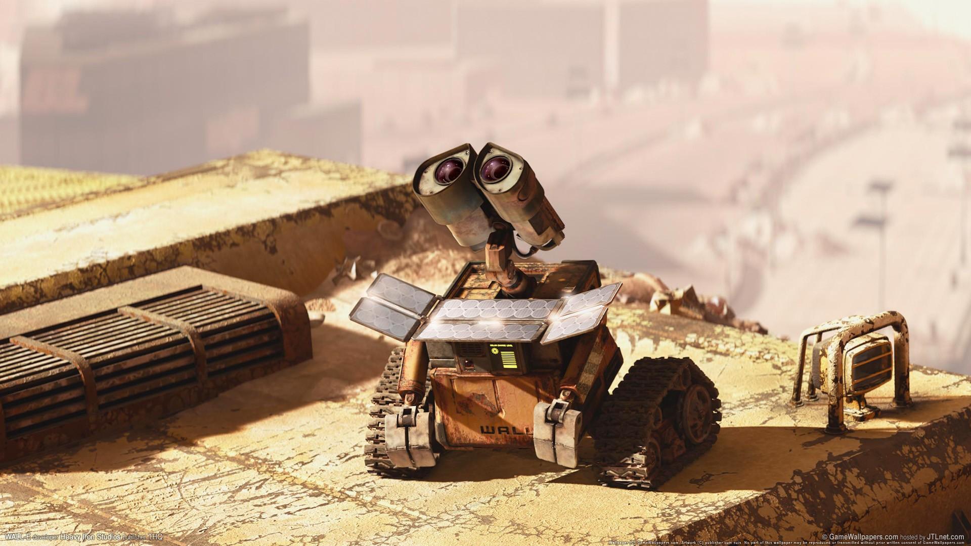 General 1920x1080 movies Disney Pixar WALL·E animated movies Pixar Animation Studios