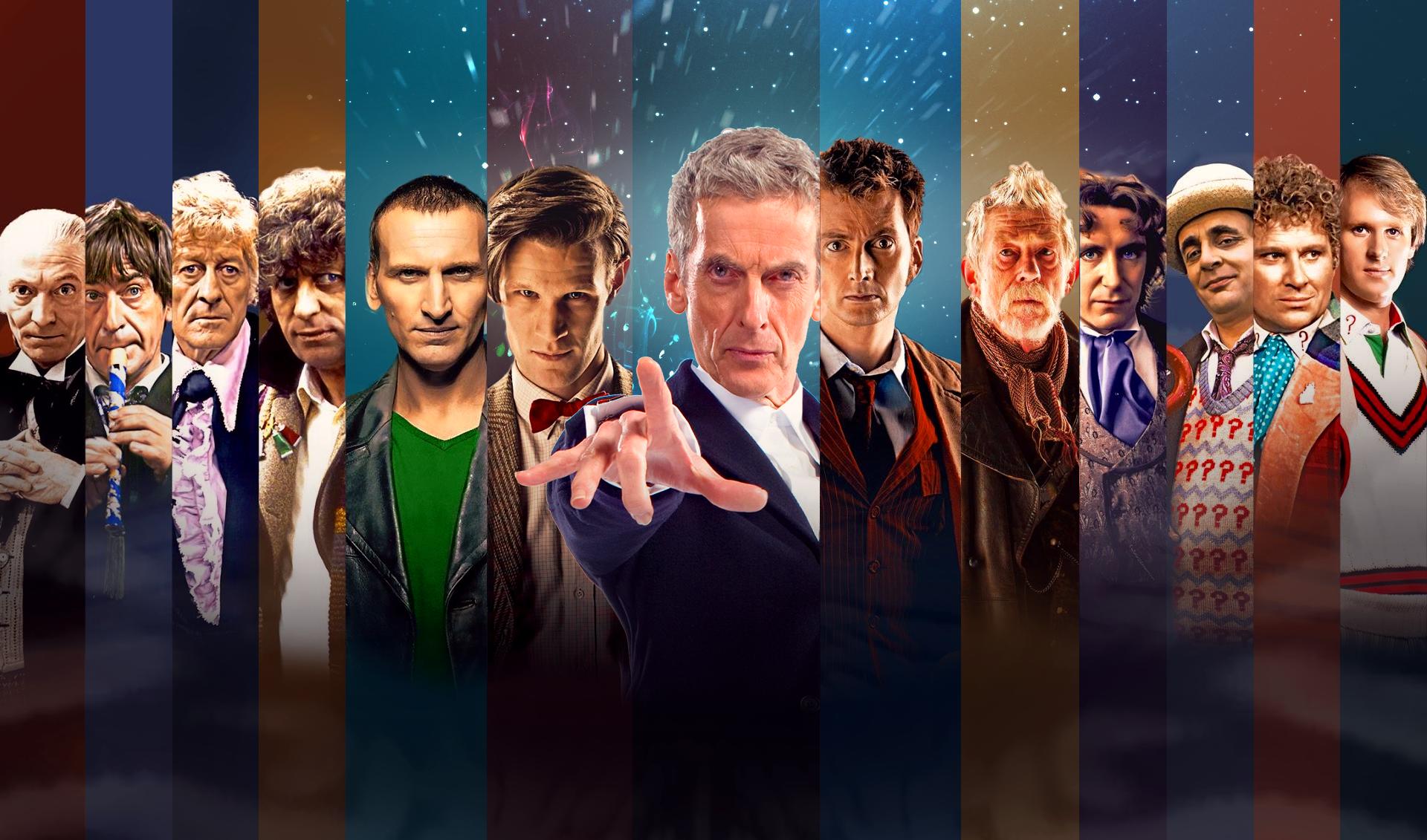 General 1920x1131 Doctor Who The Doctor Christopher Eccleston David Tennant Matt Smith Peter Capaldi Tom Baker John Hurt panels Science Fiction Men science fiction