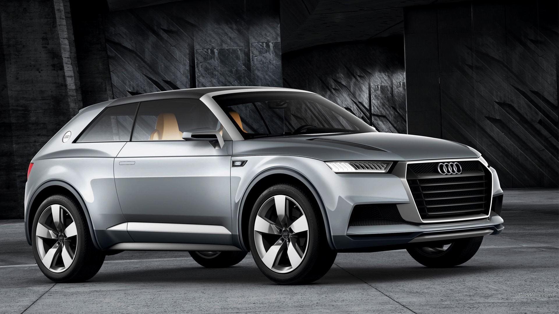 General 1920x1080 Audi Crossline car Audi grey cars concept car concept cars