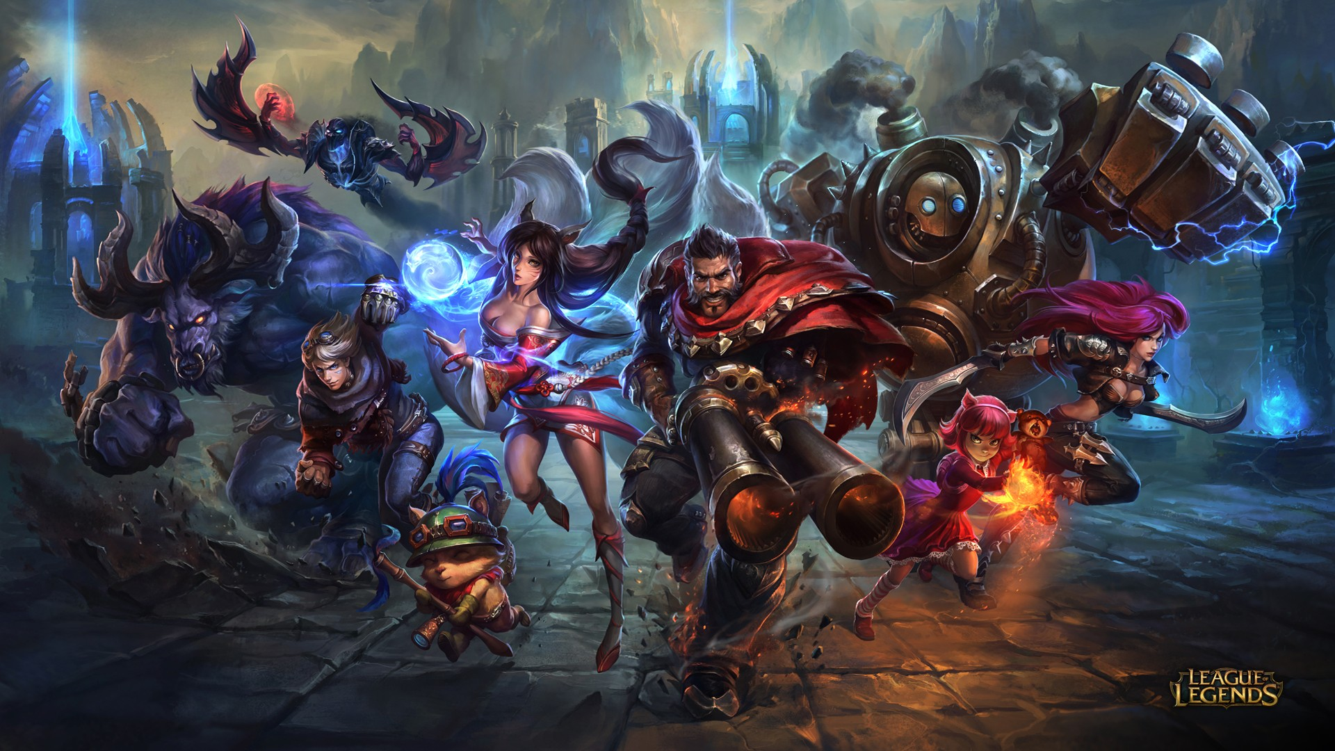 General 1920x1080 League of Legends artwork video games