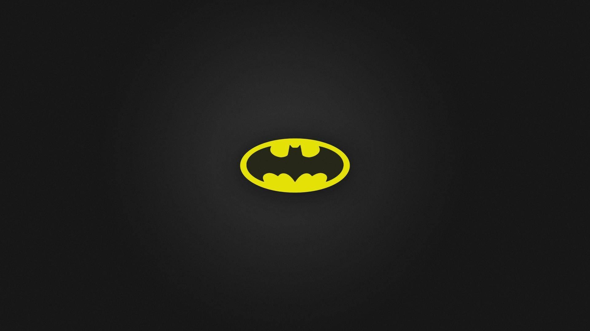 General 1920x1080 Batman logo minimalism simple background