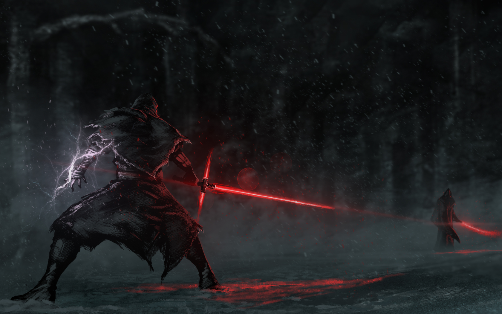 General 1680x1050 Star Wars Star Wars: The Force Awakens lightsaber artwork