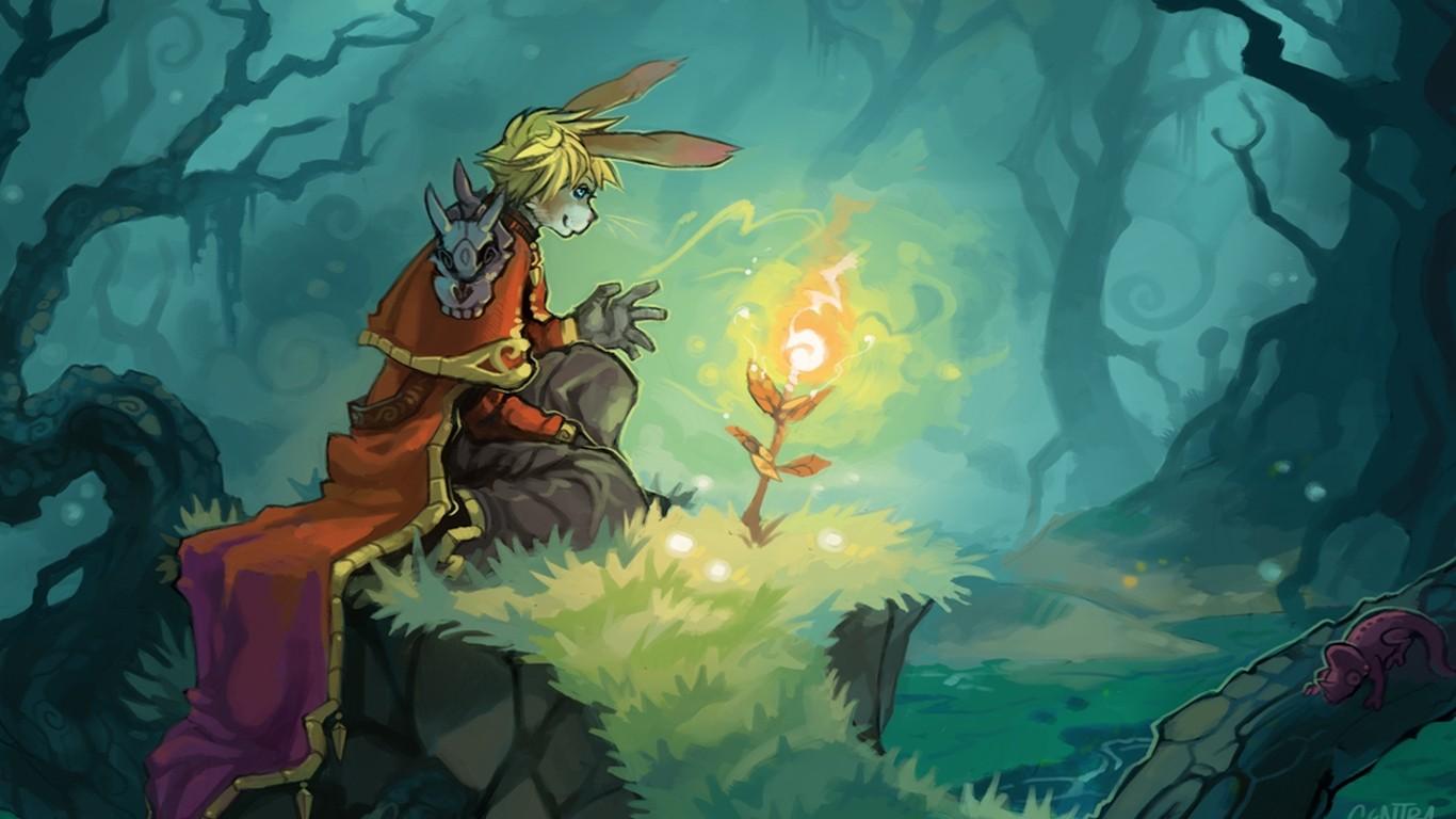 Anime 1366x768 furry Anthro fantasy art