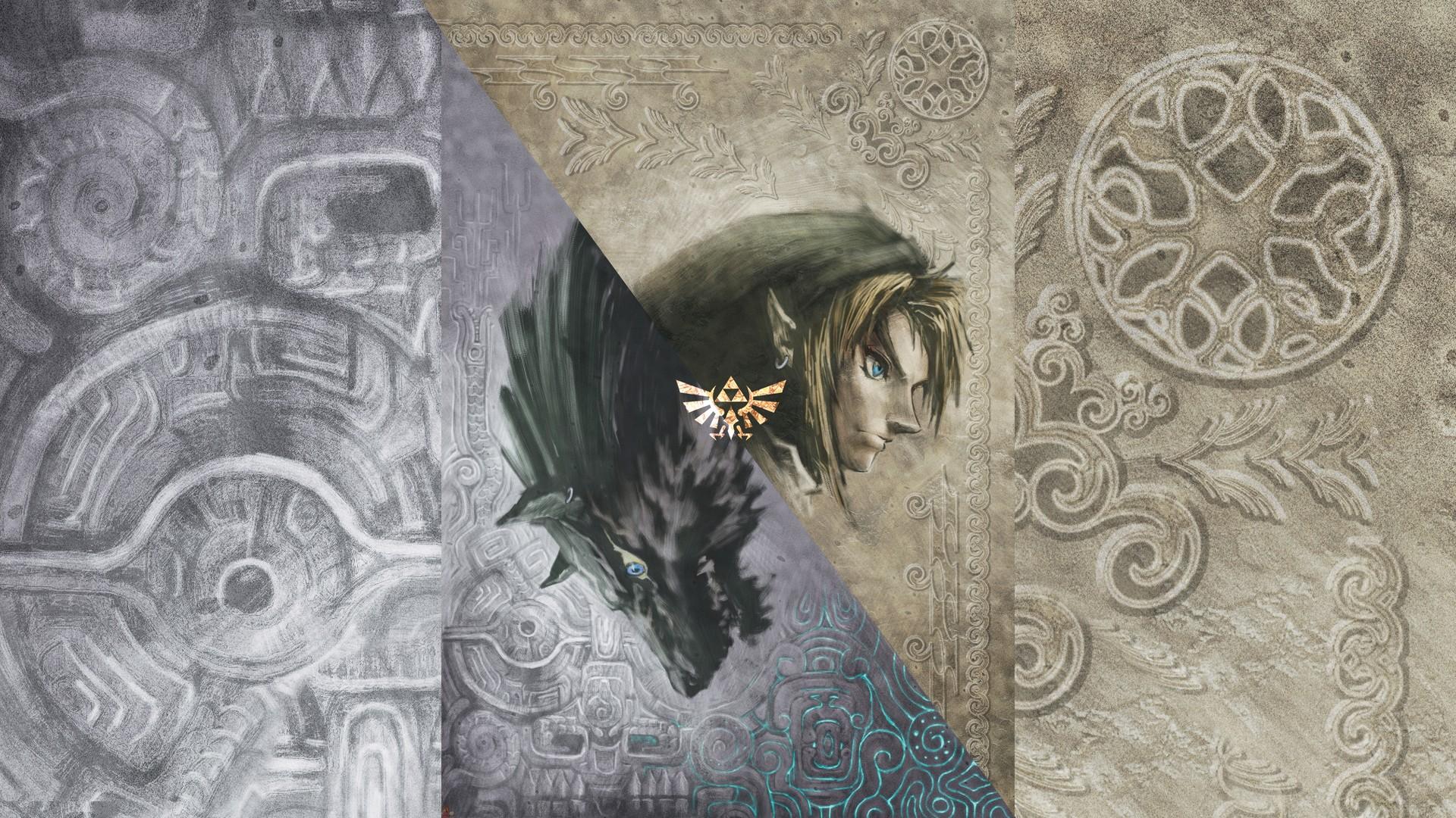 General 1920x1080 The Legend of Zelda video games The Legend of Zelda: Twilight Princess Link Wolf Link video game art