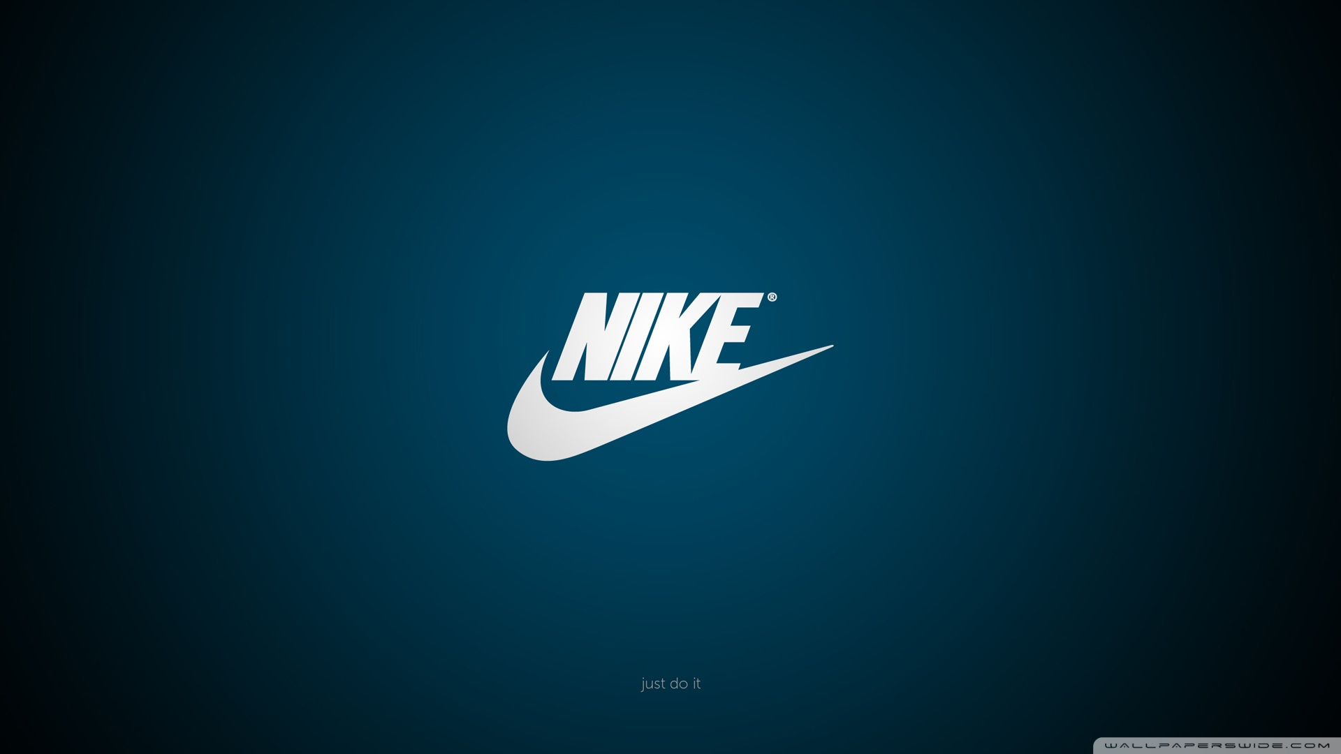 General 1920x1080 Nike logo blue blue background