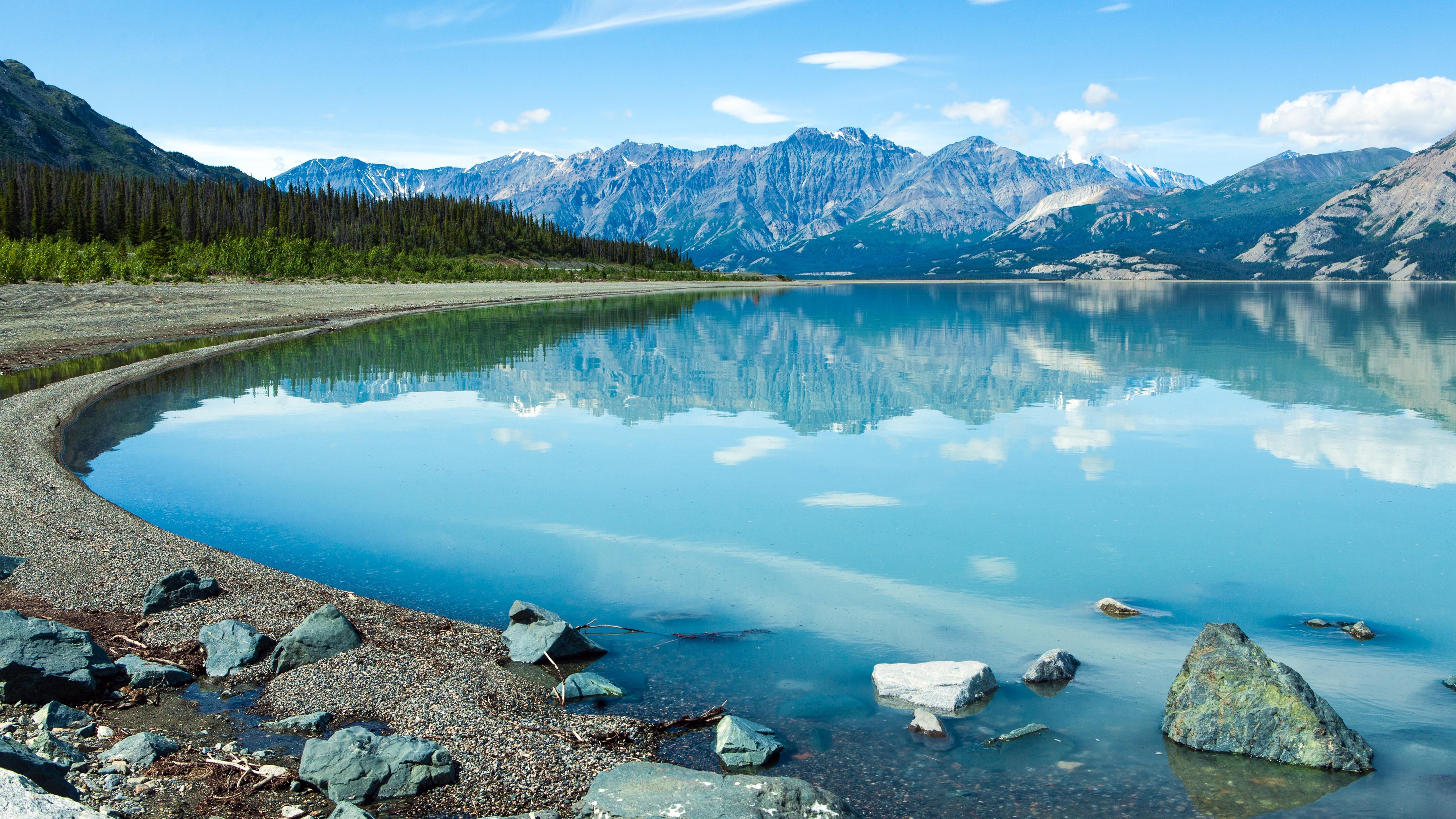 General 5120x2880 Canada Yukon landscape mountains