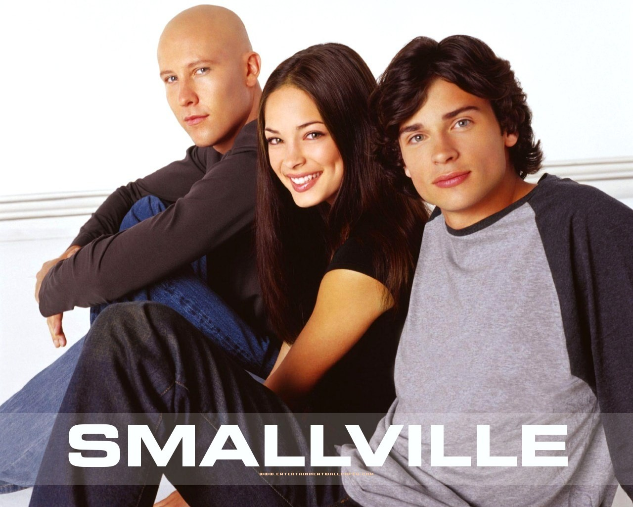 People 1280x1024 Kristin Kreuk Smallville Michael Rosenbaum Tom Welling Lana Lang Lex Luthor Clark Kent
