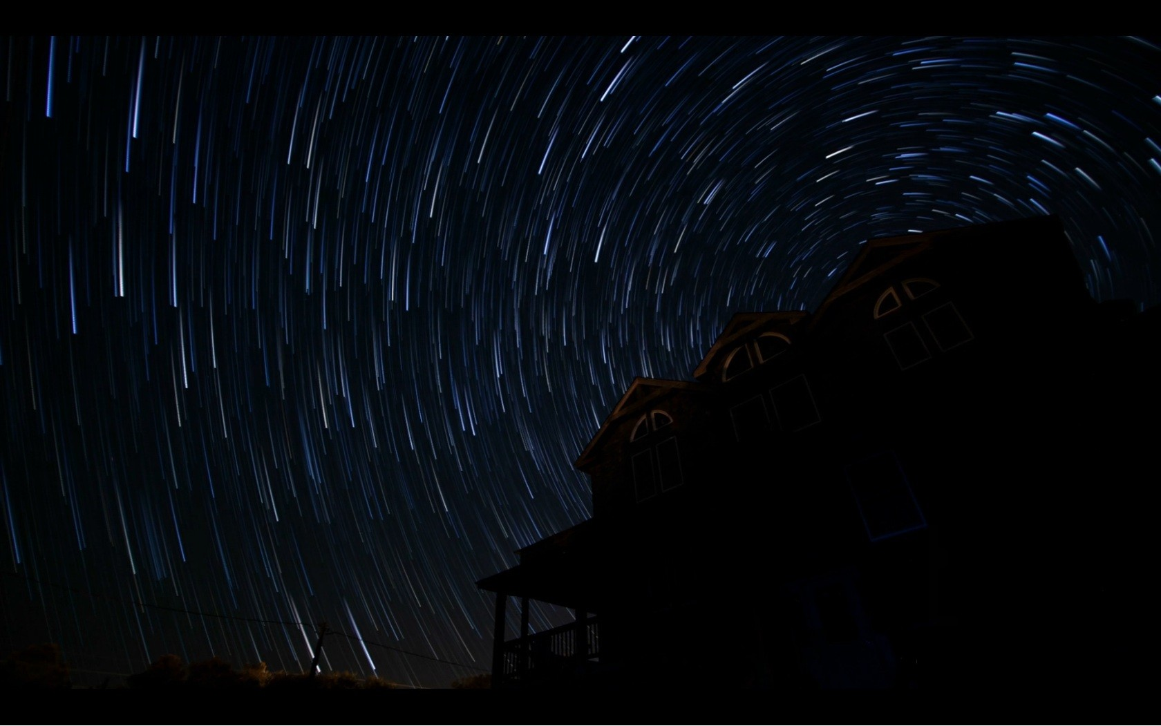 General 1680x1051 stars long exposure star trails