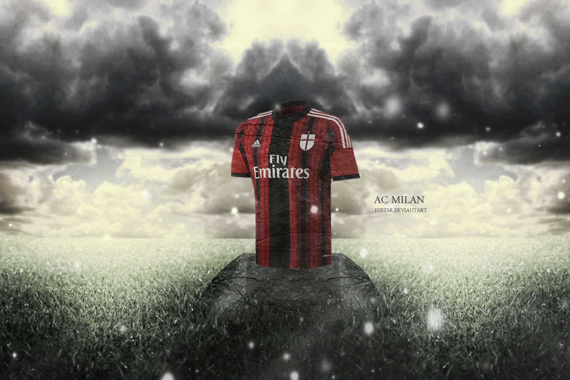 General 1920x1280 DeviantArt AC Milan sport  soccer