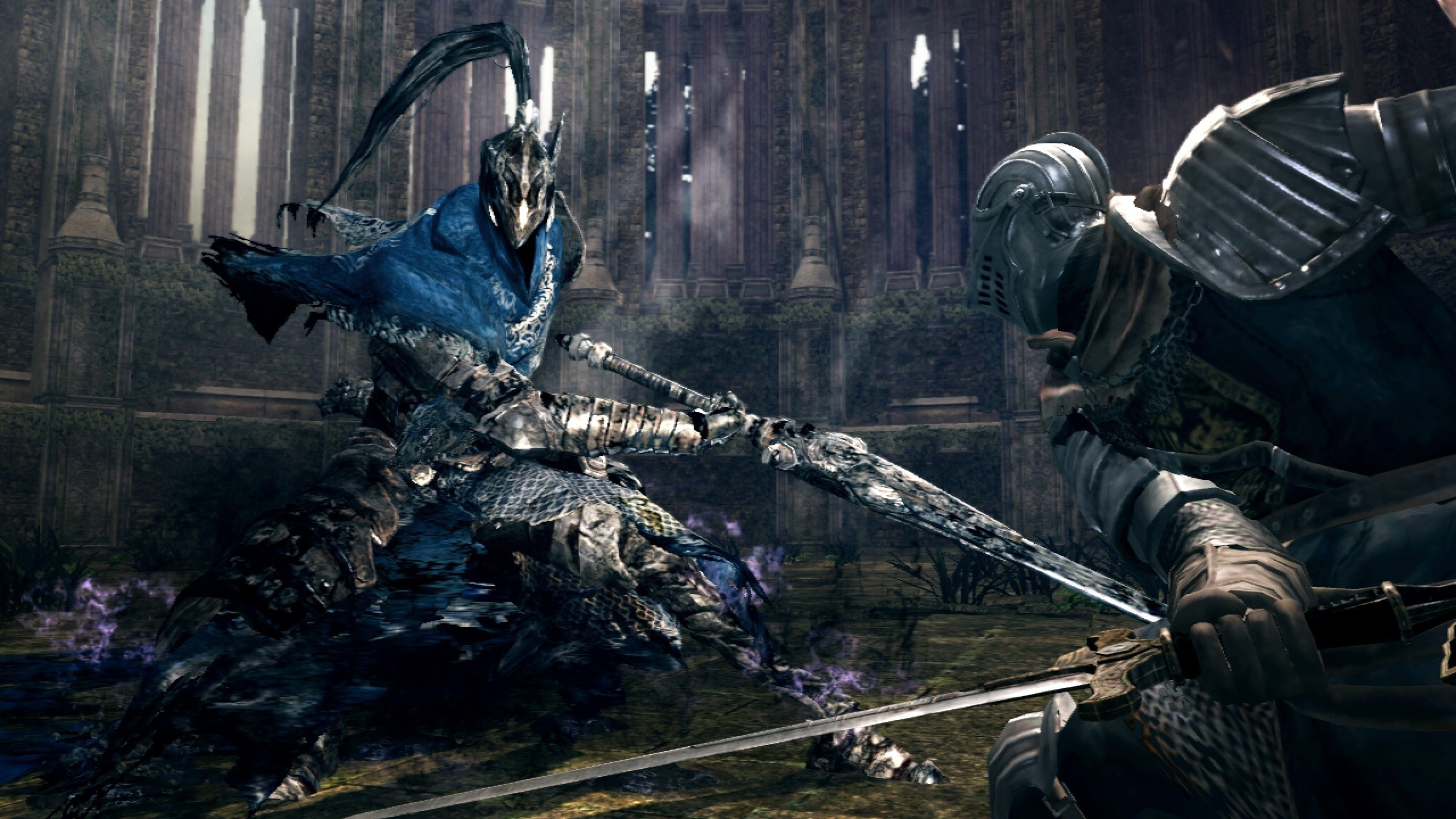 General 2560x1440 Dark Souls Artorias abyss video games