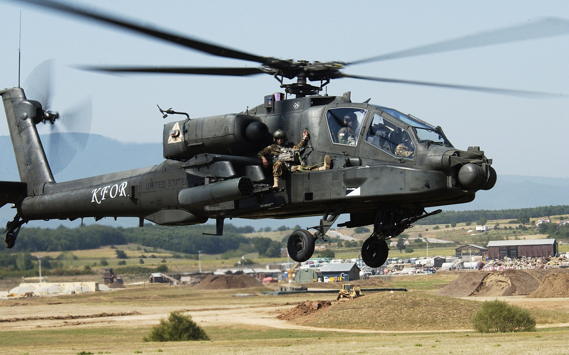 General 1920x1200 Boeing AH-64 Apache AH-64 Apache army military aircraft aircraft vehicle military vehicle soldier military attack helicopters