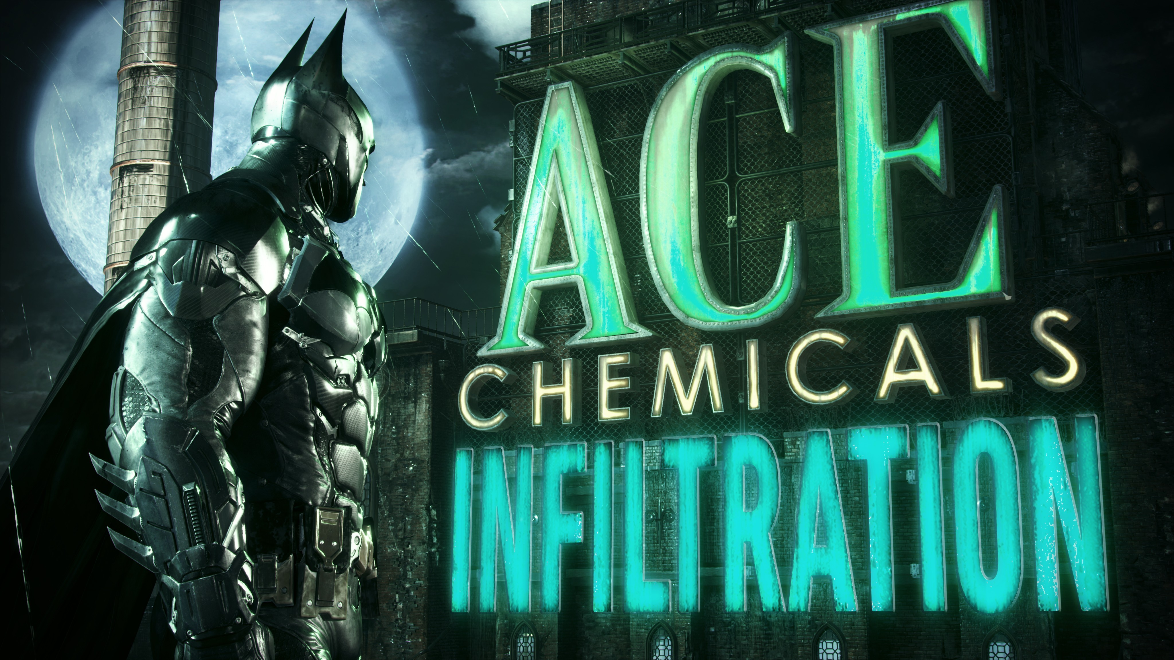 General 4096x2304 Batman Batman: Arkham Knight Gotham City video games