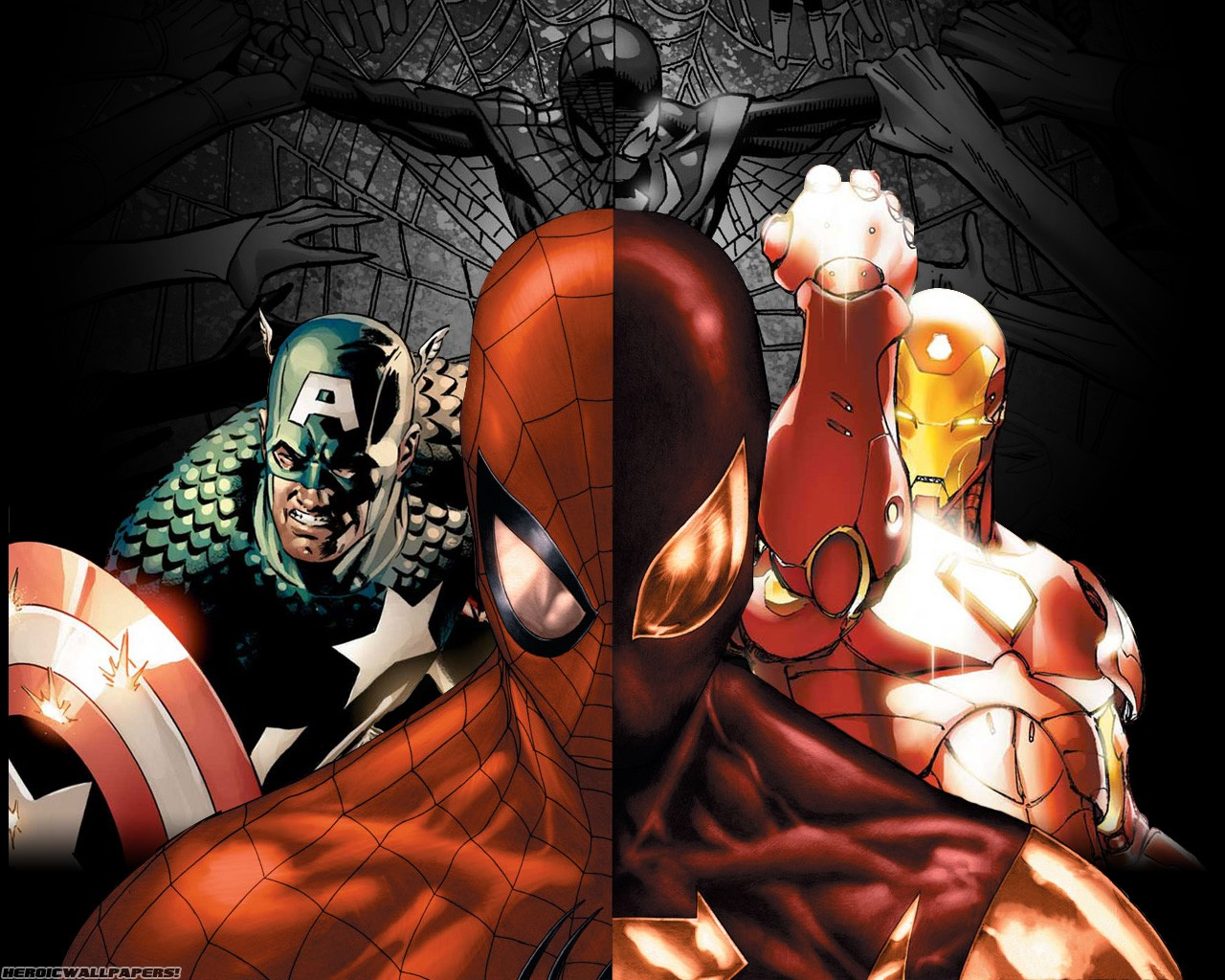 General 1280x1024 Marvel Comics movies Captain America Iron Man Spider-Man The Avengers Civil War (comics) comic books