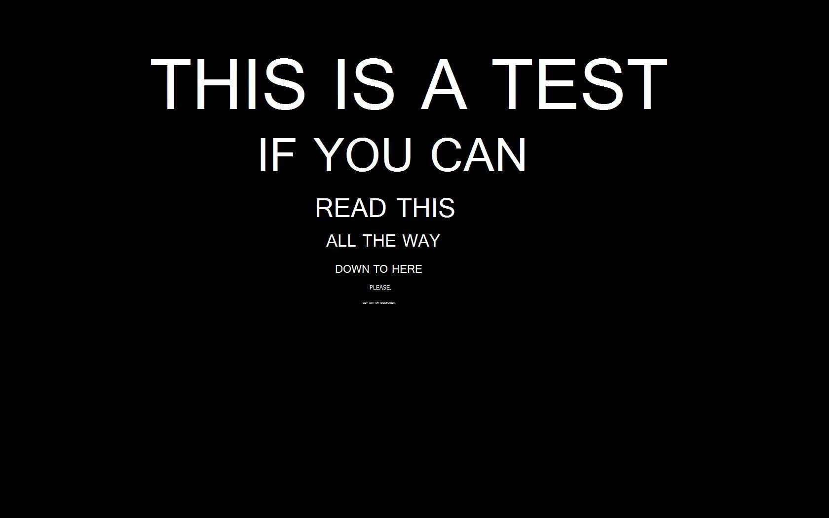 General 1680x1050 typography minimalism digital art black background humor