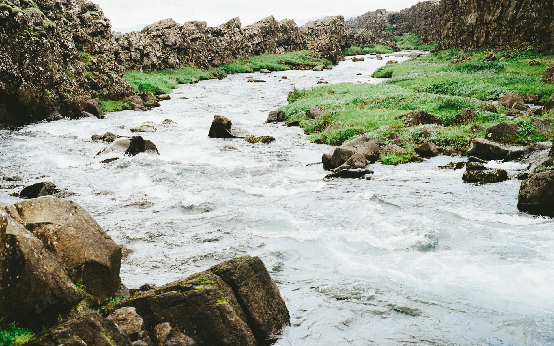General 1920x1200 water river creeks rocks landscape nature