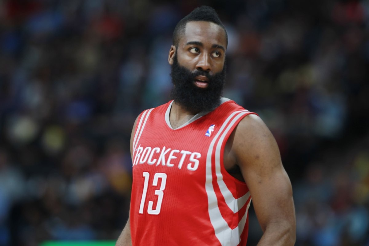 People 1200x800 NBA basketball sports James Harden Houston Houston Rockets  rocket men sport