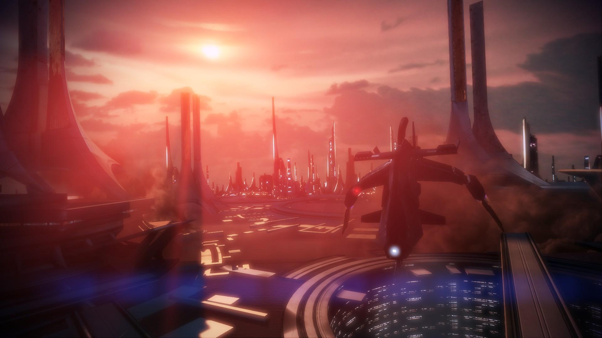 General 1920x1080 building space futuristic Mass Effect 3 video games
