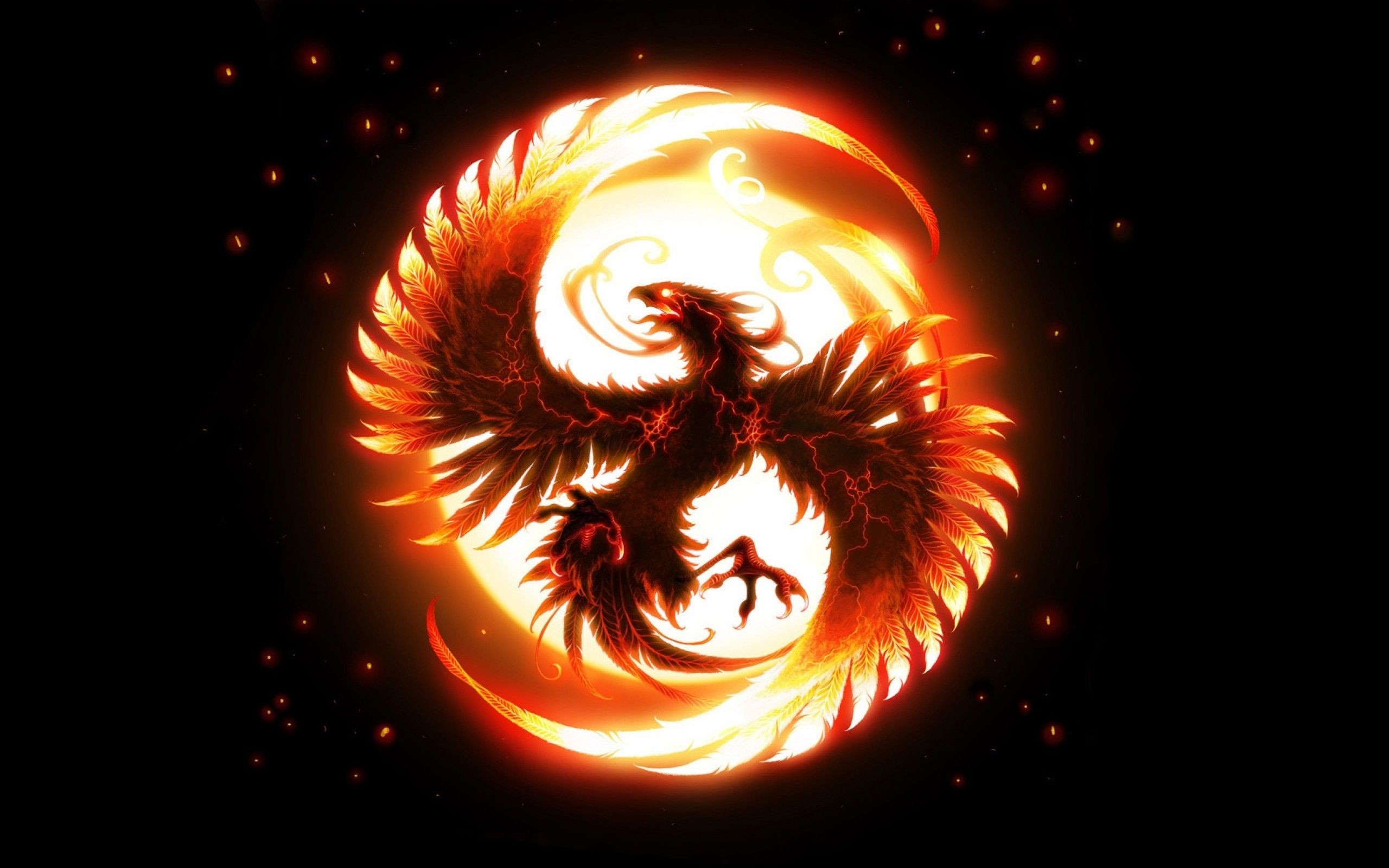 General 2560x1600 phoenix Vonikk simple background