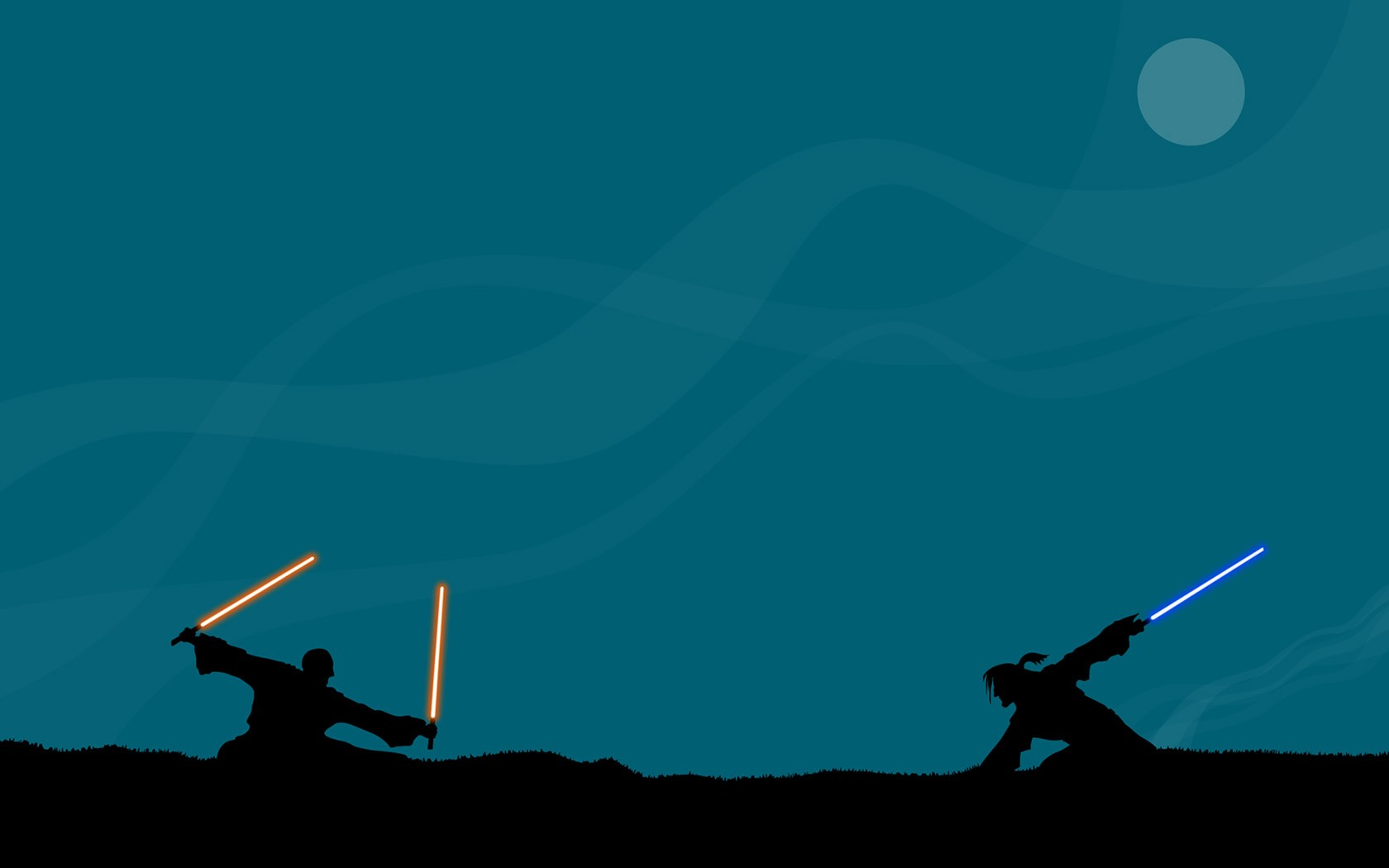 General 1680x1050 Star Wars lightsaber artwork