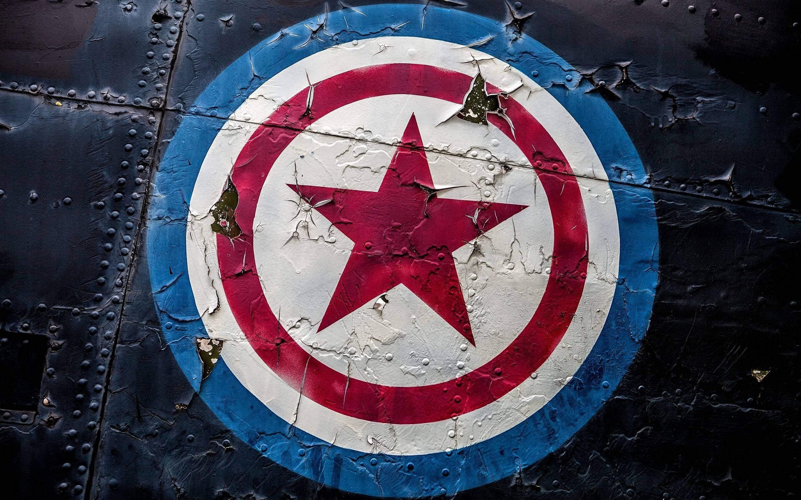 General 2560x1600 metal symbols stars Captain America Marvel Cinematic Universe