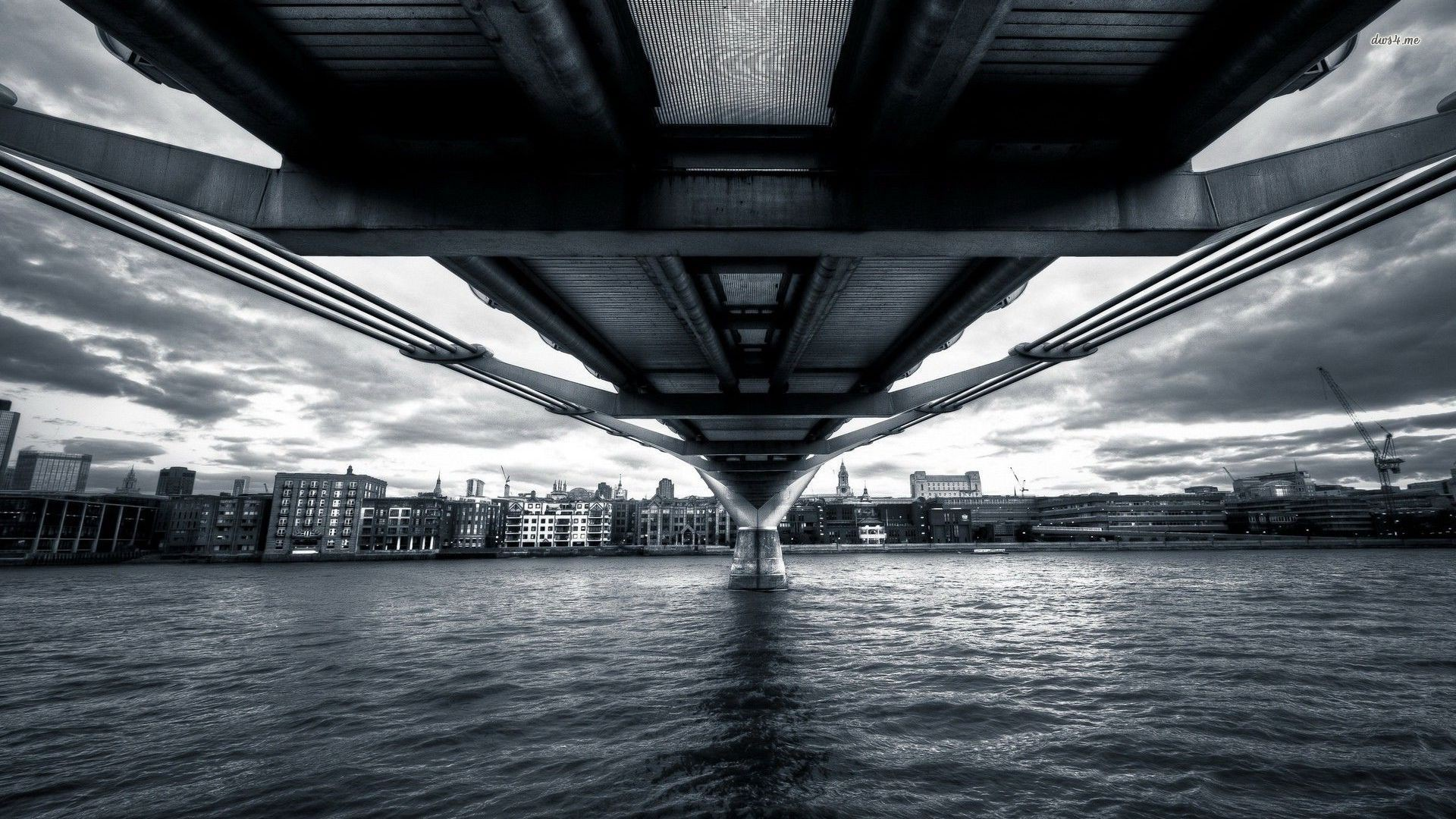 General 1920x1080 Millennium Bridge bridge London
