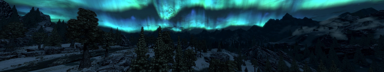 General 5760x1080 The Elder Scrolls V: Skyrim multiple display video games fantasy art RPG screen shot PC gaming