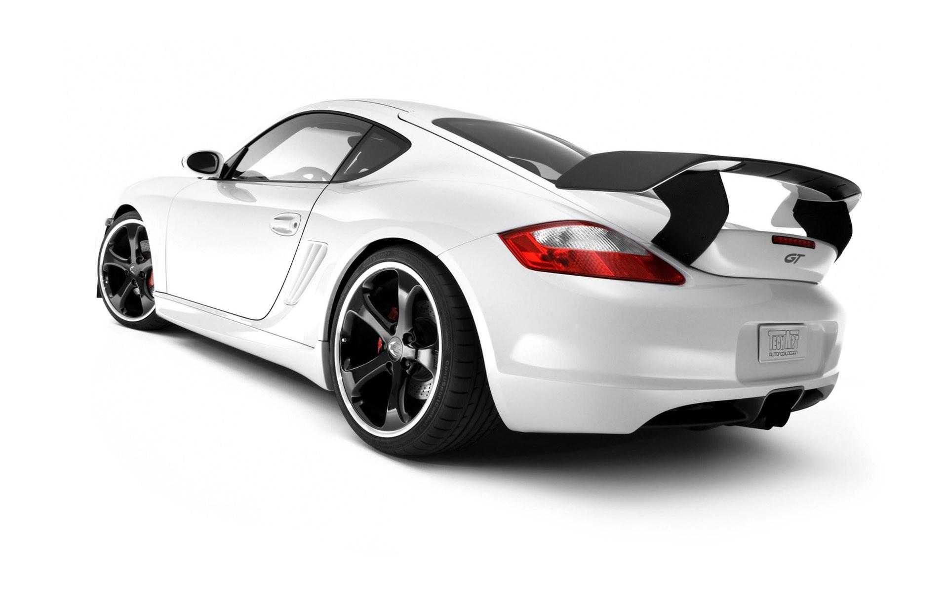 General 1920x1200 Porsche car white cars Porsche Cayman vehicle TechArt German cars