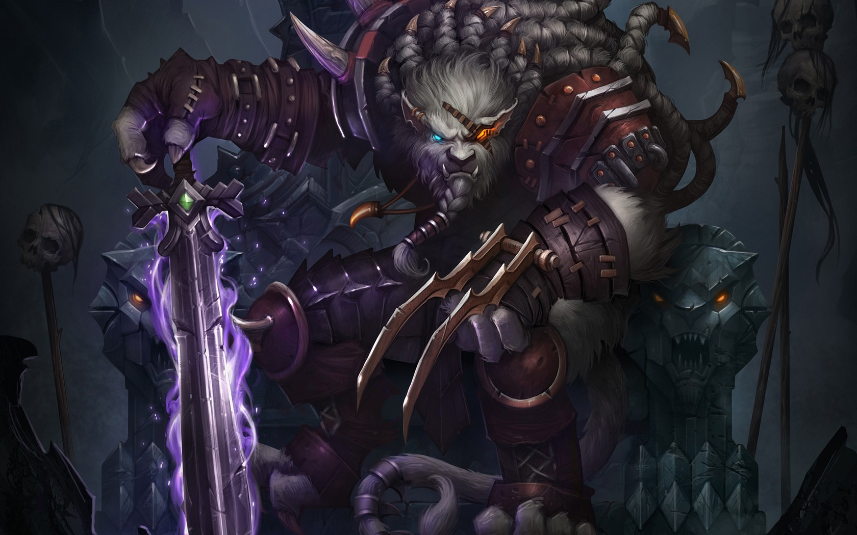 General 1680x1050 League of Legends Rengar video games