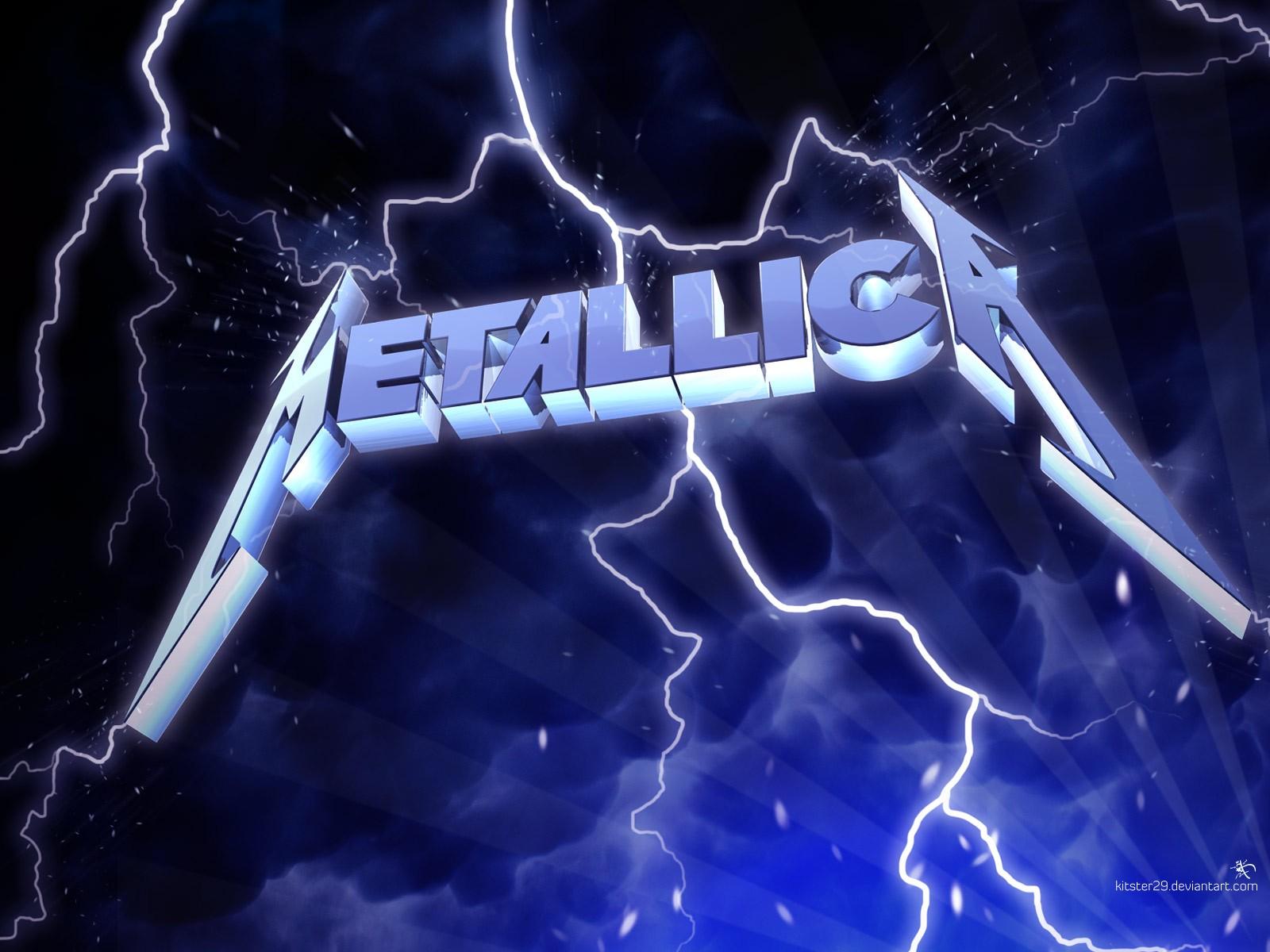 General 1600x1200 Metallica  heavy metal thrash metal Big 4  Thunderbolt music band logo