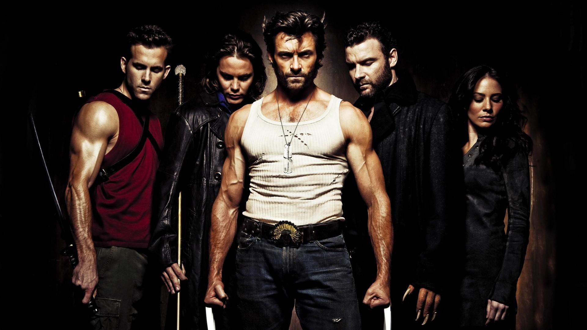 General 1920x1080 movies X-Men Origins: Wolverine Wolverine Gambit Wade Wilson Deadpool Hugh Jackman Ryan Reynolds