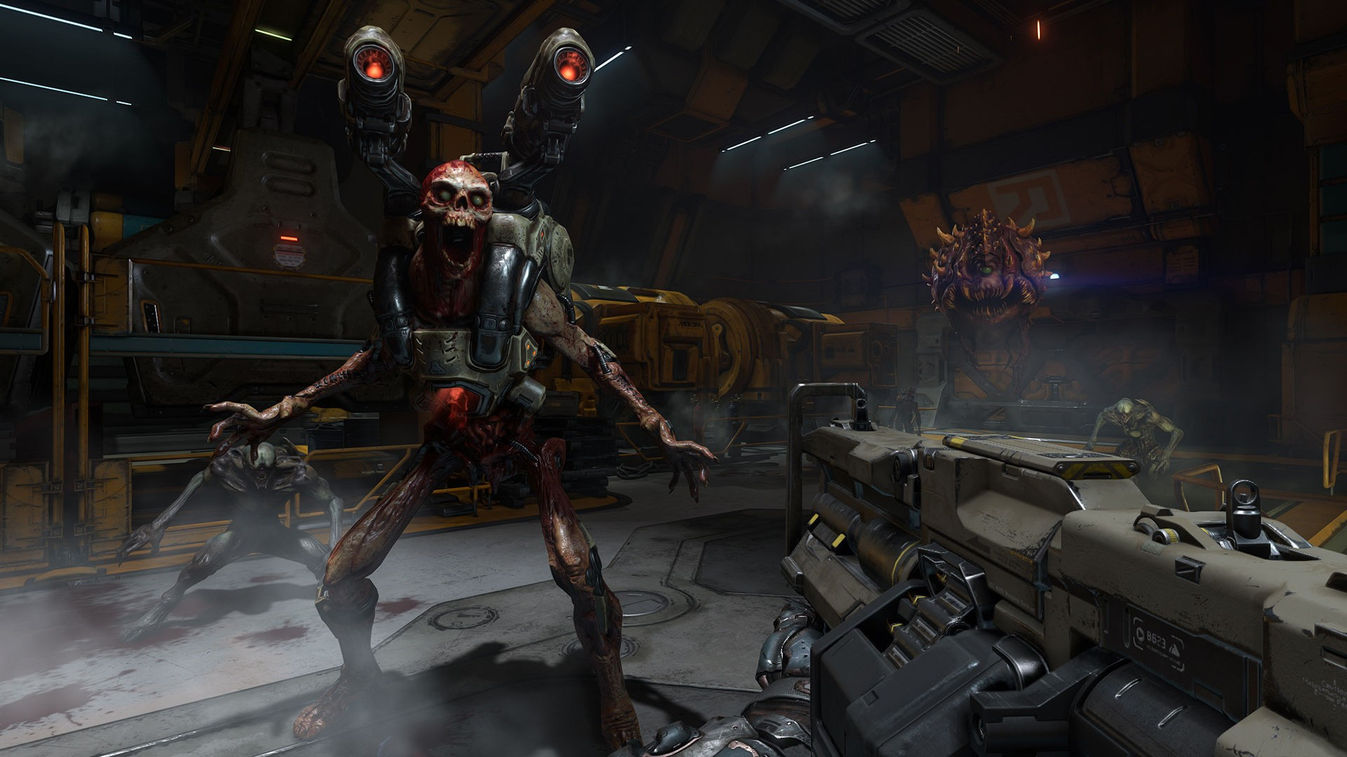 General 1920x1080 Doom (game) Doom 4 Id Software video games shooter first-person shooter