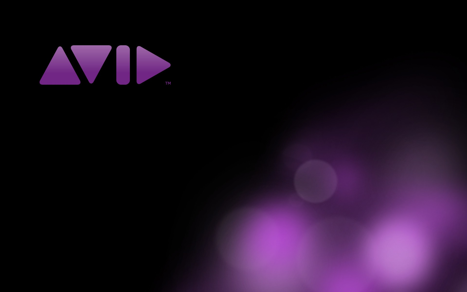 General 1920x1200 logo Avid Technology shapes minimalism purple simple background black background