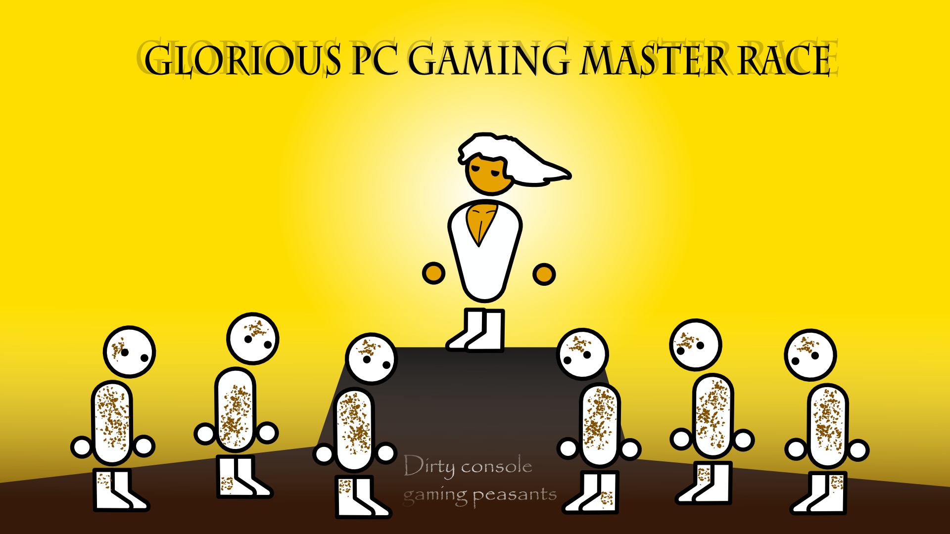 General 1920x1080 computer hero Zero Punctuation PC Master  Race simple Papyrus
