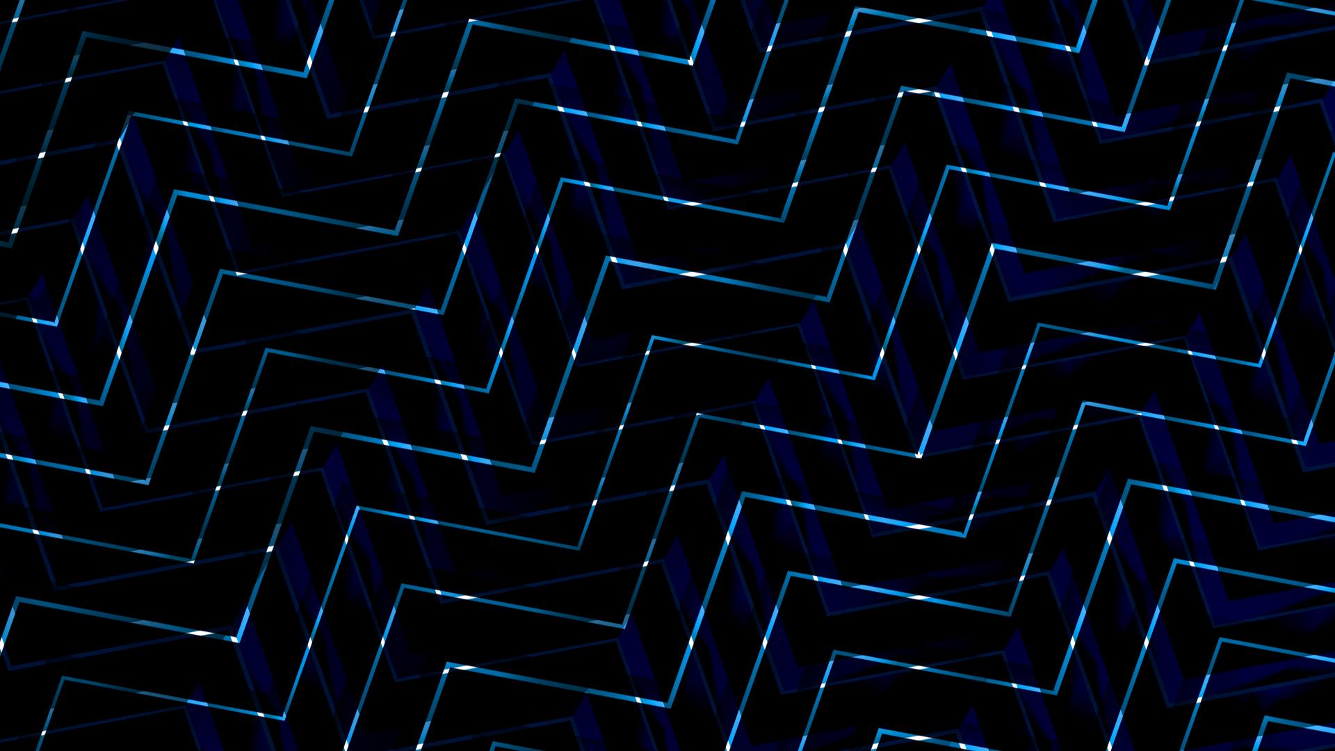 General 1920x1080 lines pattern square blocky dark shiny