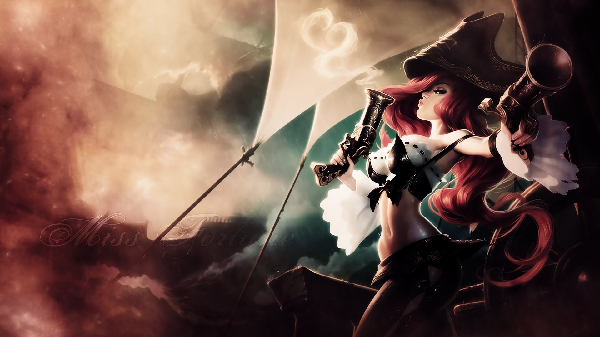 General 1920x1080 League of Legends Miss Fortune video games