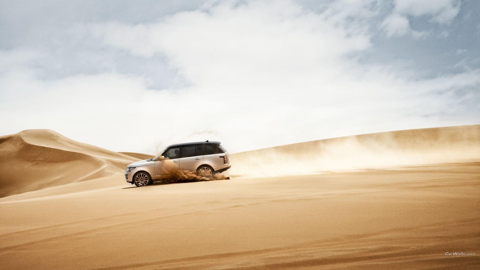 General 1920x1080 Range Rover car desert vehicle