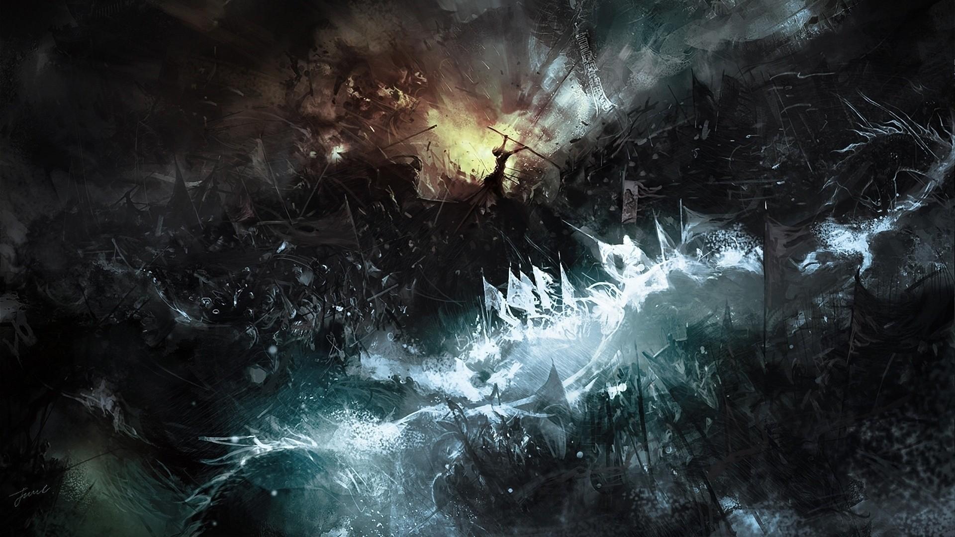 General 1920x1080 digital art war fantasy art battle