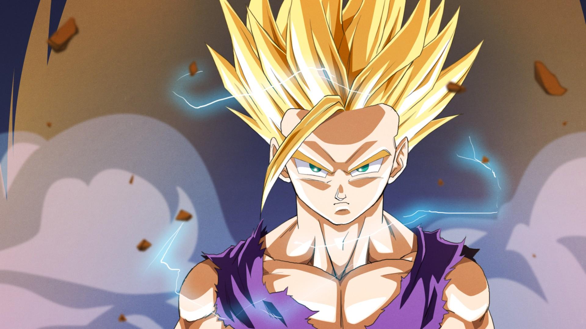 Anime 1920x1080 Dragon Ball Z Super Saiyan 2 Gohan Dragon Ball Super Saiyan anime