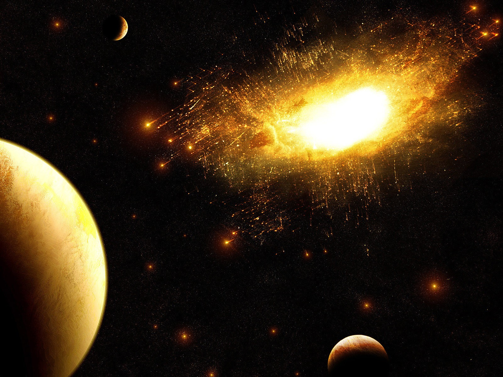 General 1600x1200 space art planet digital art