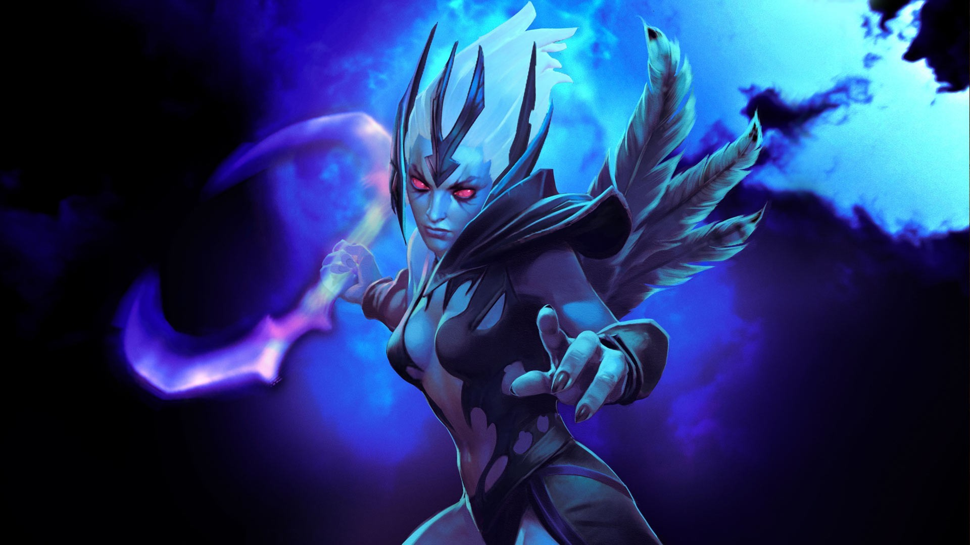 General 1920x1080 Dota 2 fantasy girl video games