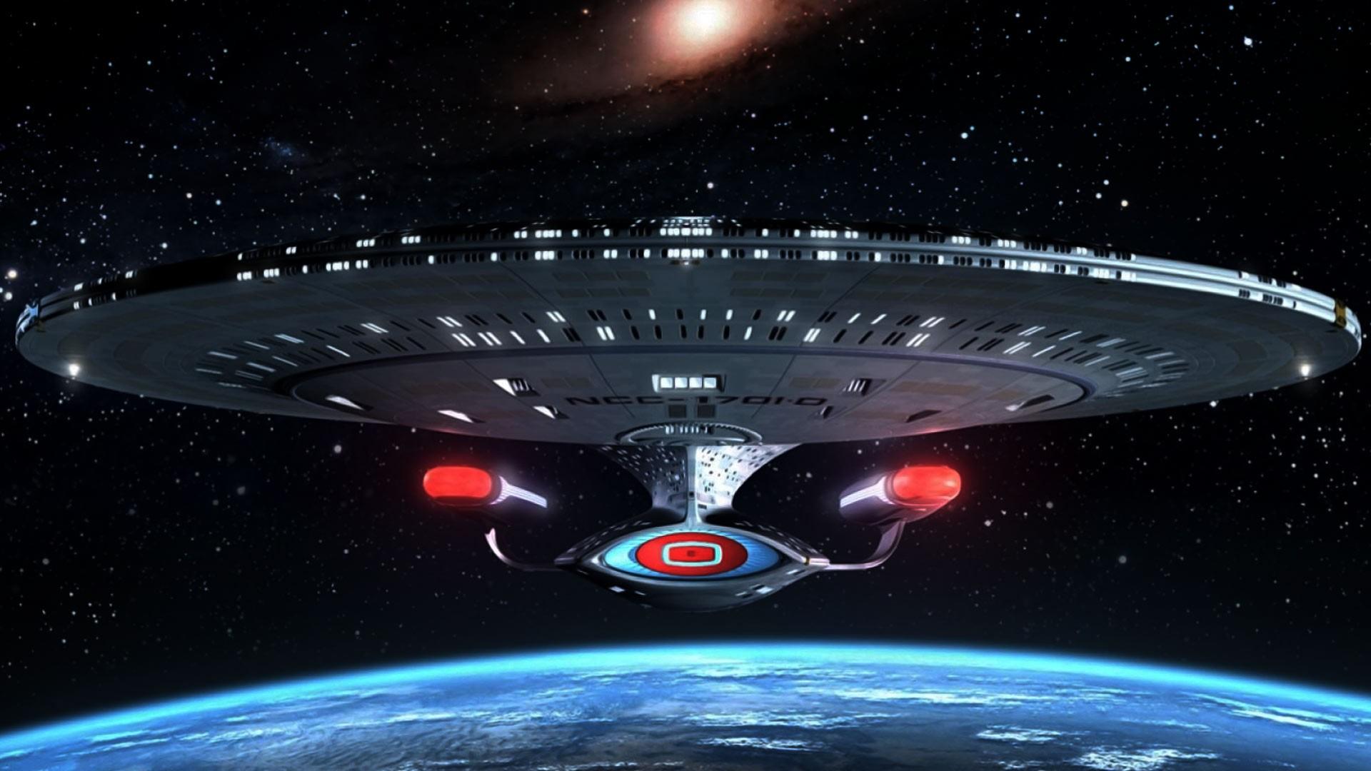 General 1920x1080 science fiction spaceship NCC-1701 Enterprise D star trek: the next generation Star Trek Ships Star Trek: TNG