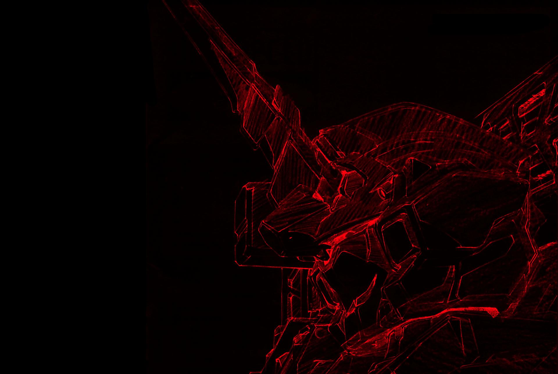 Anime 1920x1287 Gundam anime Mobile Suit Gundam Unicorn drawn
