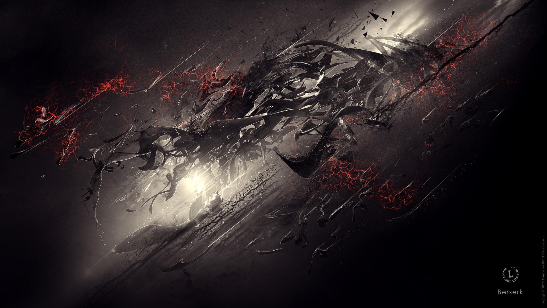 General 1920x1080 abstract digital art dark