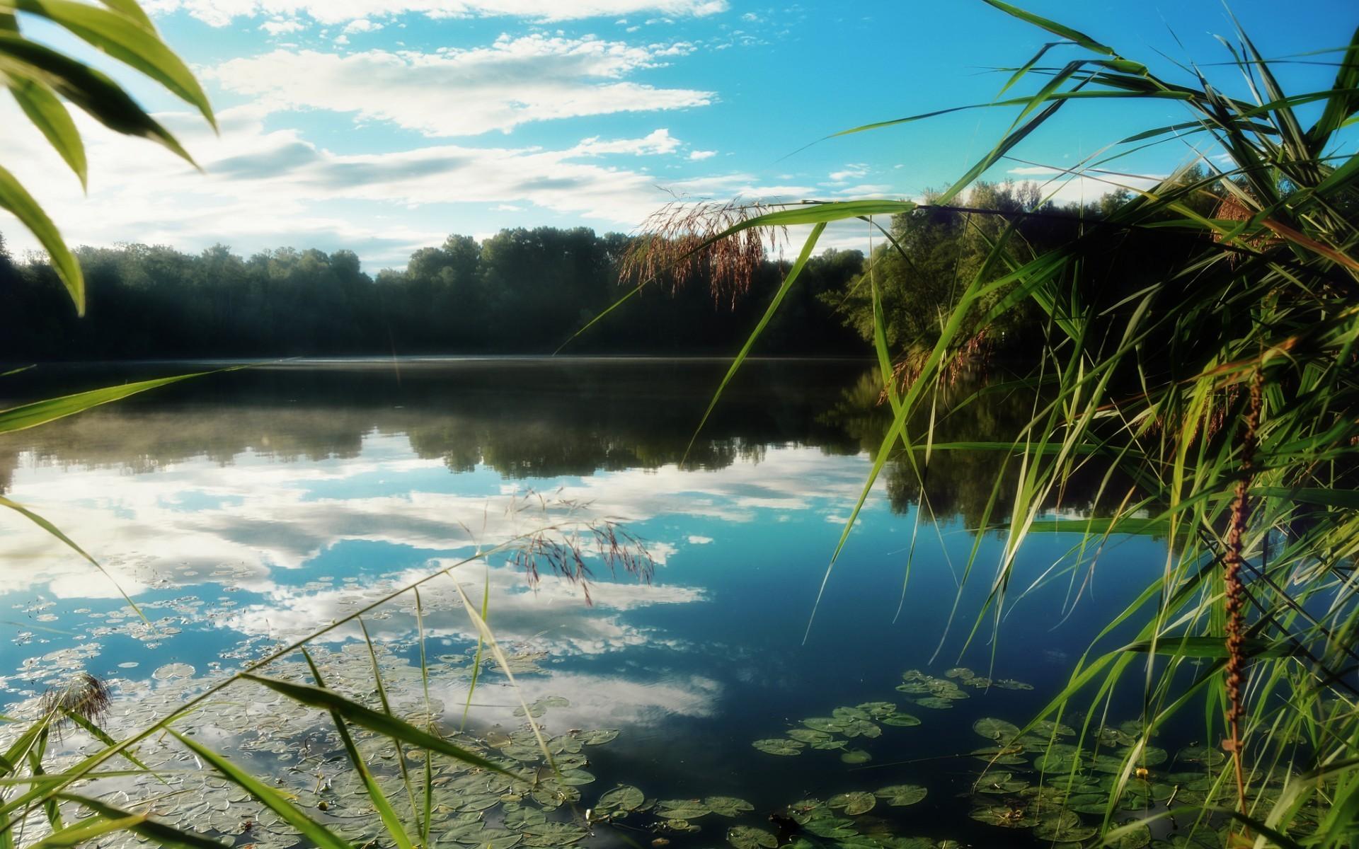 General 1920x1200 lake nature landscape water sky